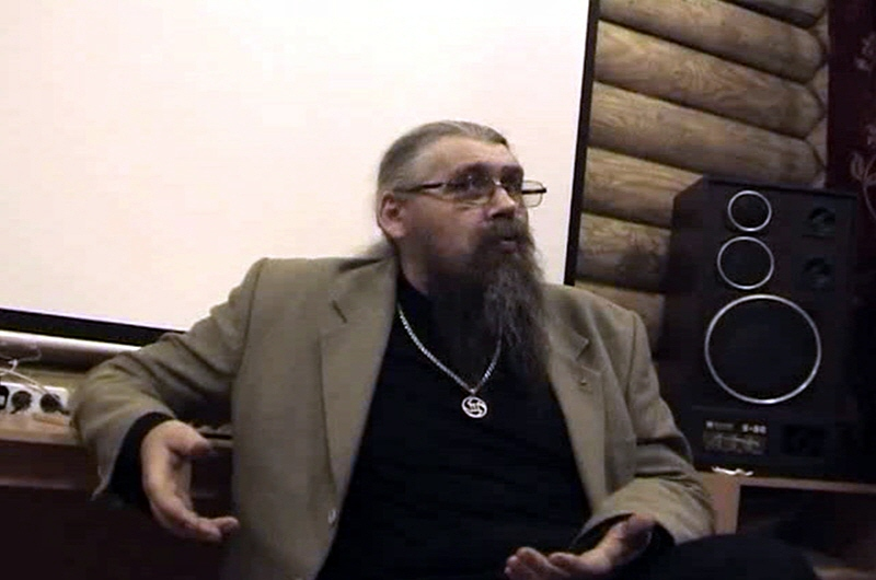 Александр Хиневич в Омске в январе 2010 года
