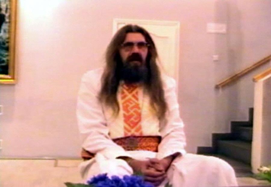 Александр Хиневич в московском музее художника Константина Васильева 13 июня 2001 года