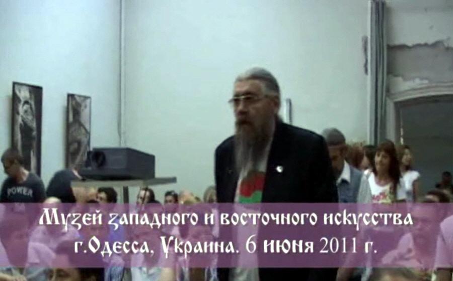 Встреча с Патер Дием Александром Хиневичем в Одессе