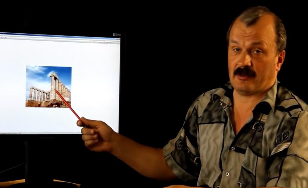 Лекция Алексея Кунгурова о греческих храмах