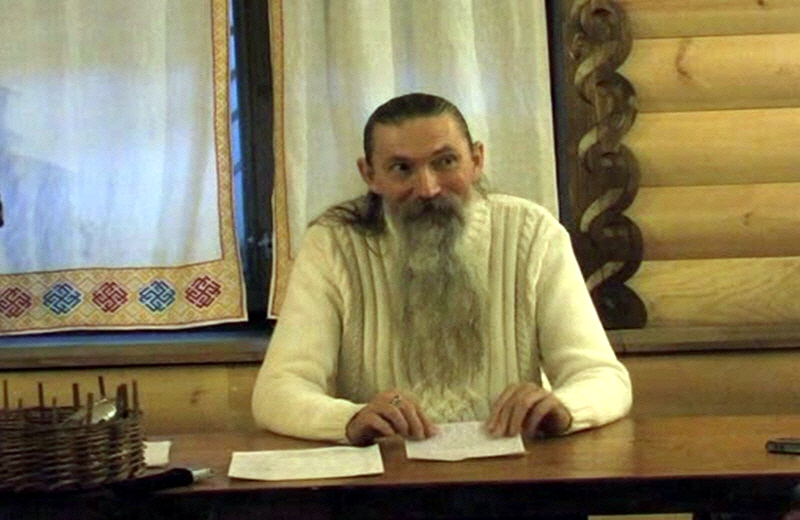 Алексей Трехлебов в Жуковской палате ремёсел 27 февраля 2010 года