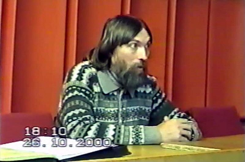 Алексей Трехлебов в Краснодаре 26 октября 2000 года