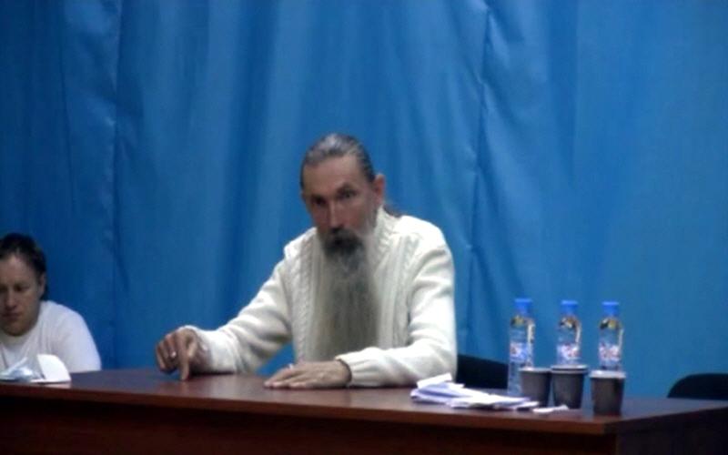 Алексей Трехлебов в Москве на ВДНХ в центре изучения боевых искусств 23 декабря 2010 года