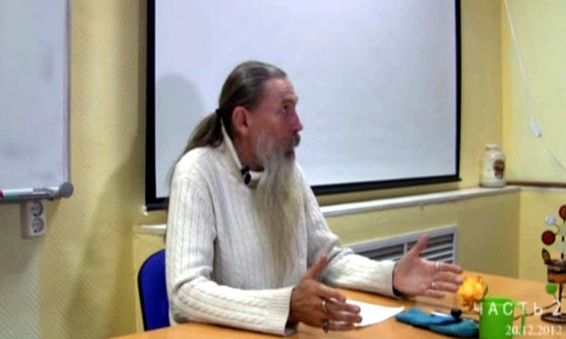 Алексей Трехлебов в Москве 20 декабря 2012 года