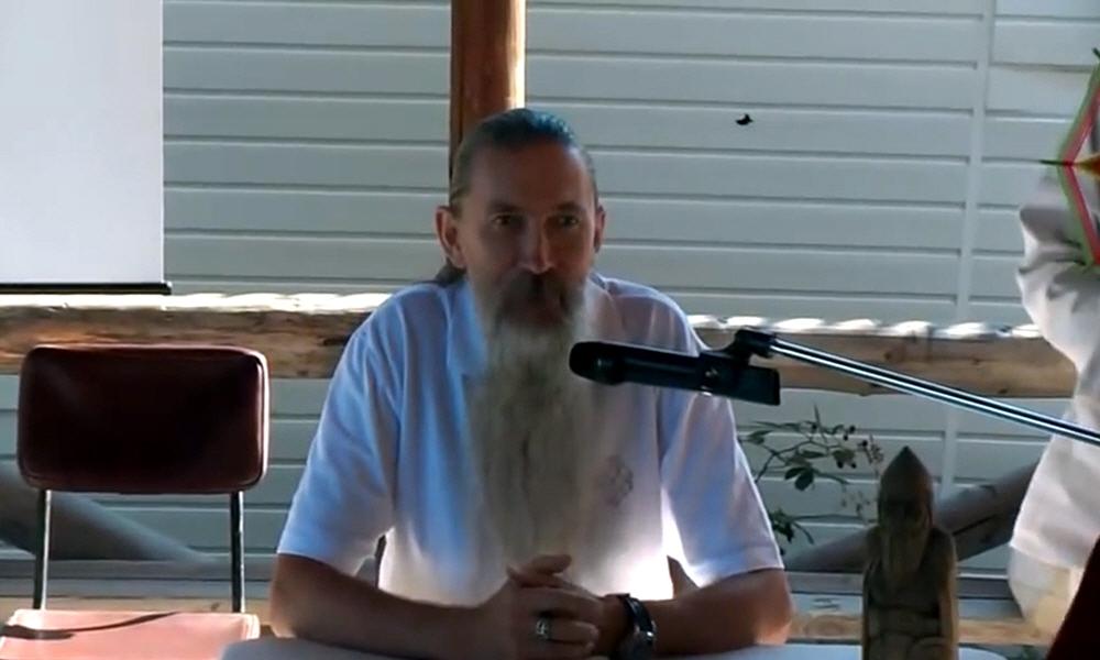 Алексей Трехлебов на десятом Всенародном Вече Староверов 15 и 16 сентября 2012 года