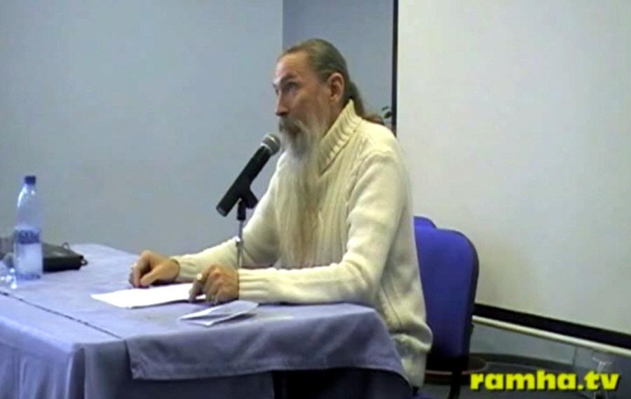 Встреча с Алексеем Васильевичем Трехлебовым в Перми в конференц зале отеля New Star 25 февраля 2012 года