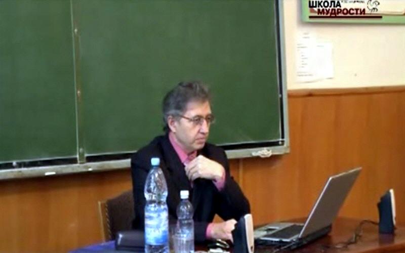 Анатолий Некрасов в Херсоне в декабре 2007 года