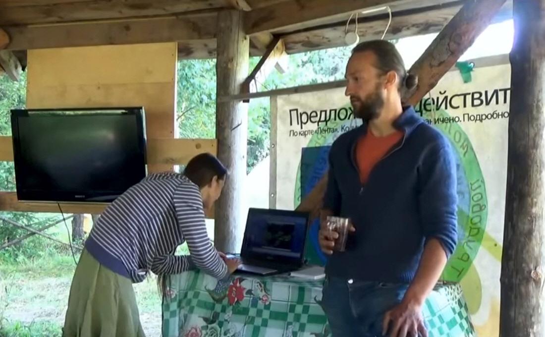 Лекция Анатолия Орлова в экопоселении Ковчег