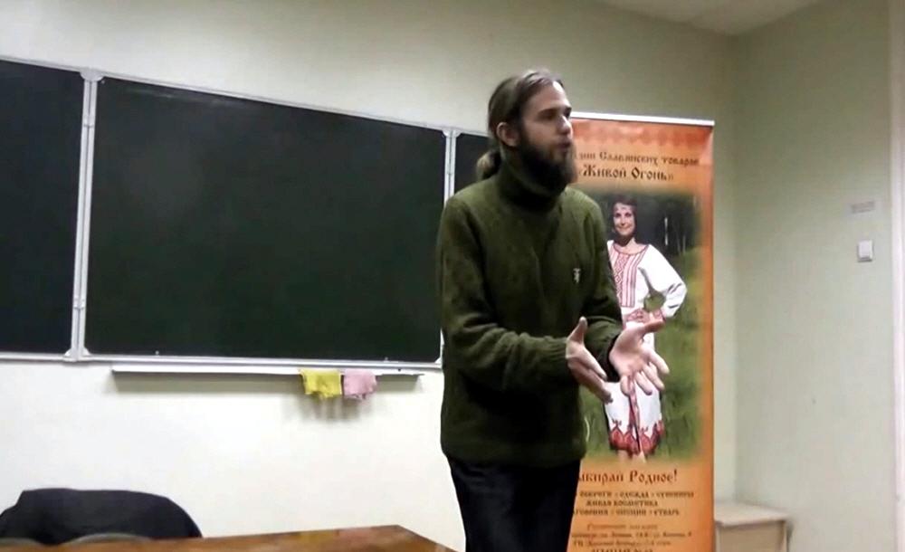 Андрей Ивашко в Екатеринбурге 20 ноября 2014 года