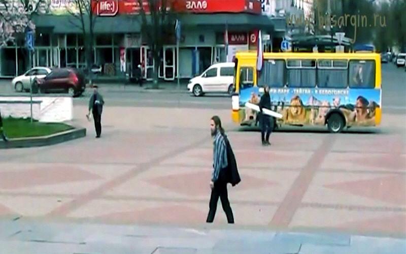 Андрей Ивашко в Симферополе 29 марта 2014 года