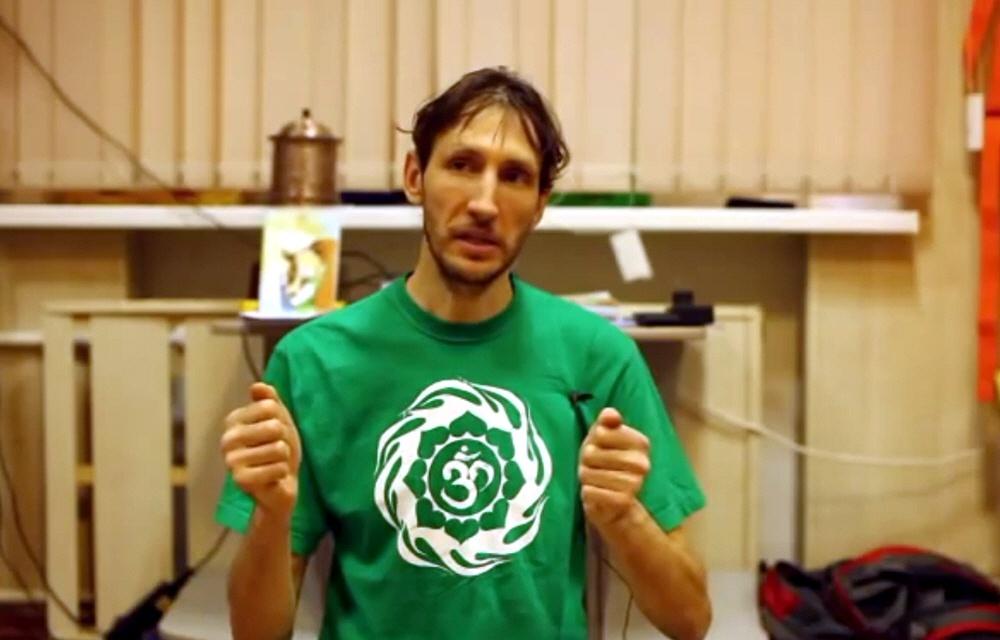 Андрей Верба в центре творчества Ровесник в Москве 11 февраля 2012 года