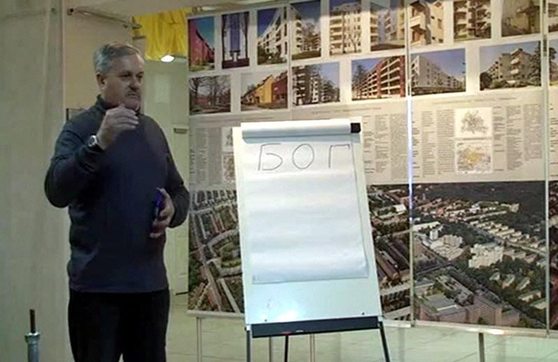 Борис Татищев в Омске в марте 2010 года