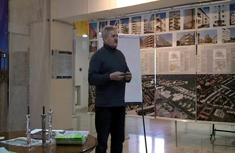 Три лекции Бориса Юрьевича Татищева в омской галерее Сибирская пирамида
