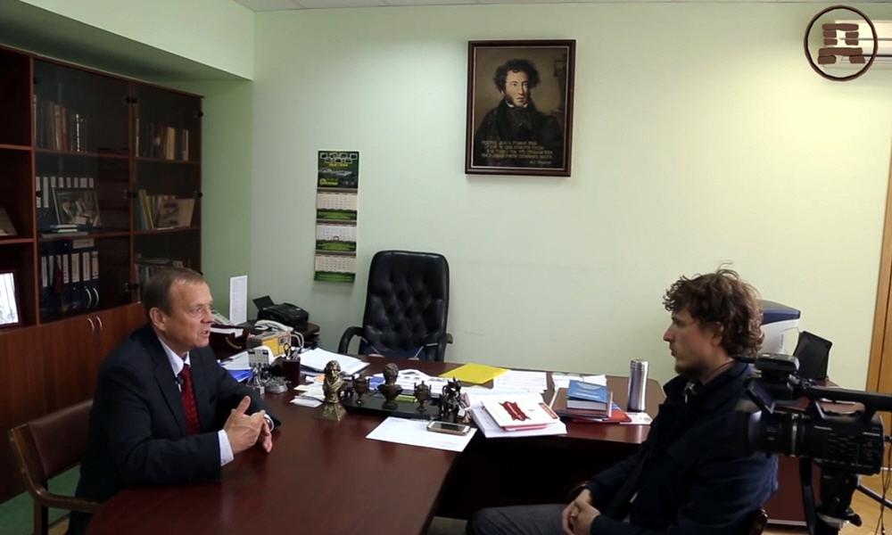 Виктор Ефимов в цикле интервью Достояние Планеты