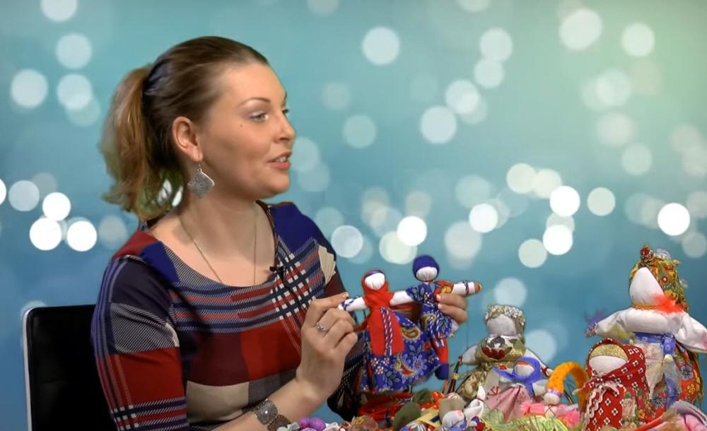 Алёна Бобылева - кукольница создательница творческой мастерской Магия Макоши