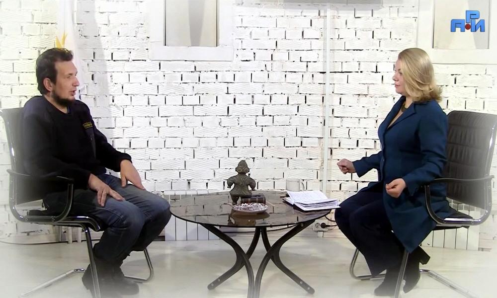 Вадим Чернобров в программе Велеславы Захаровой Древо Жизни