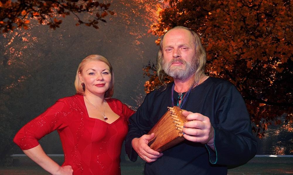 Василий Бутров и Велеслава Захарова