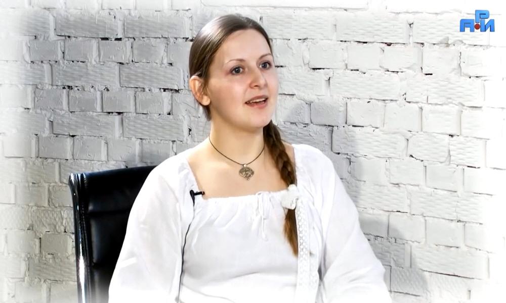 Ведана Кучерявая - создательница косметической линии ВЕДУНИЦА