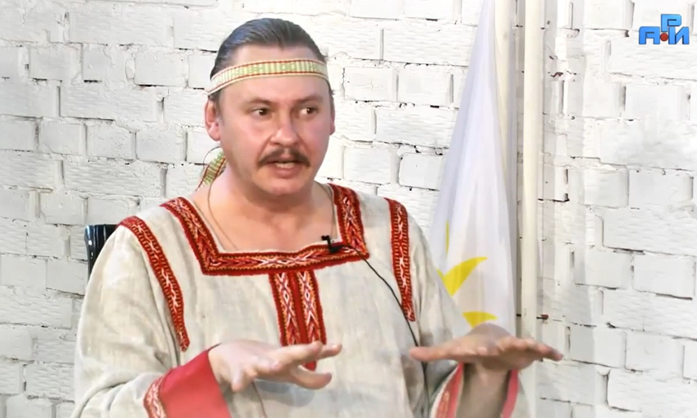 Владимир Егоров - руководитель центра древнеславянской культуры Суряница
