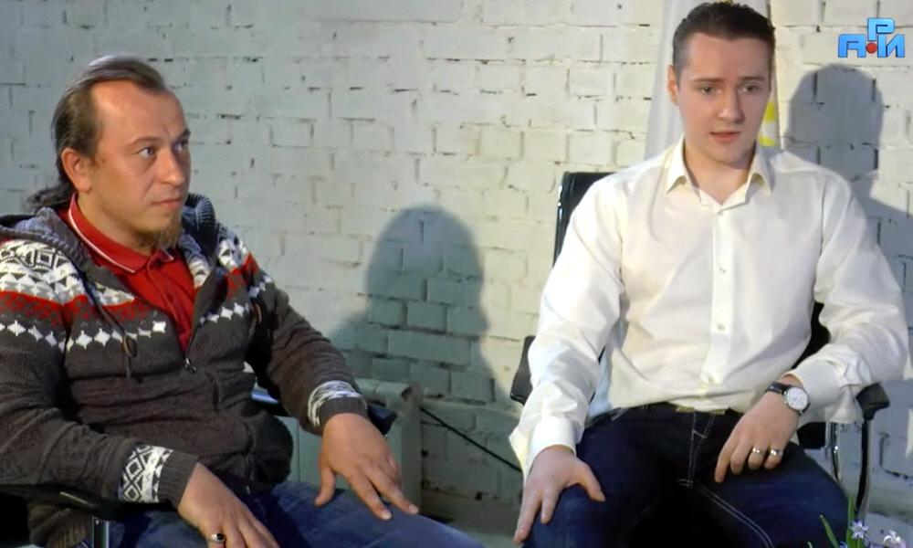 Дмитрий Волхов и Роман Алмазов в программе Древо Жизни