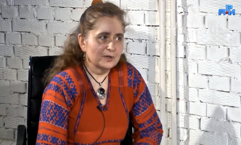 Марина Качаева - мастер народных промыслов, автор книги Сокровища Русского Орнамента