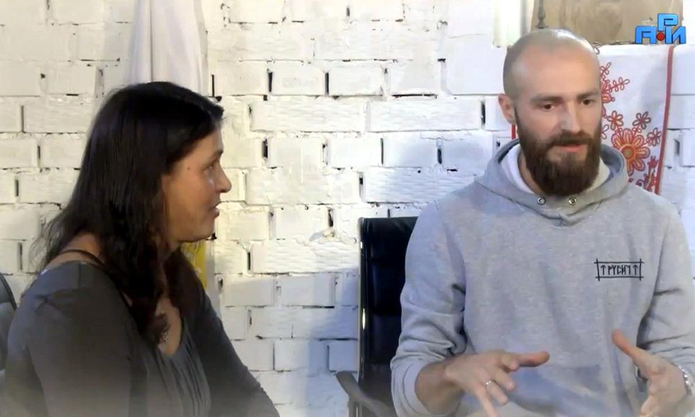Максим Кулешов и Светолада Кулешова в программе Древо Жизни