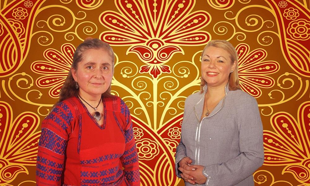 Марина Качаева и Велеслава Захарова
