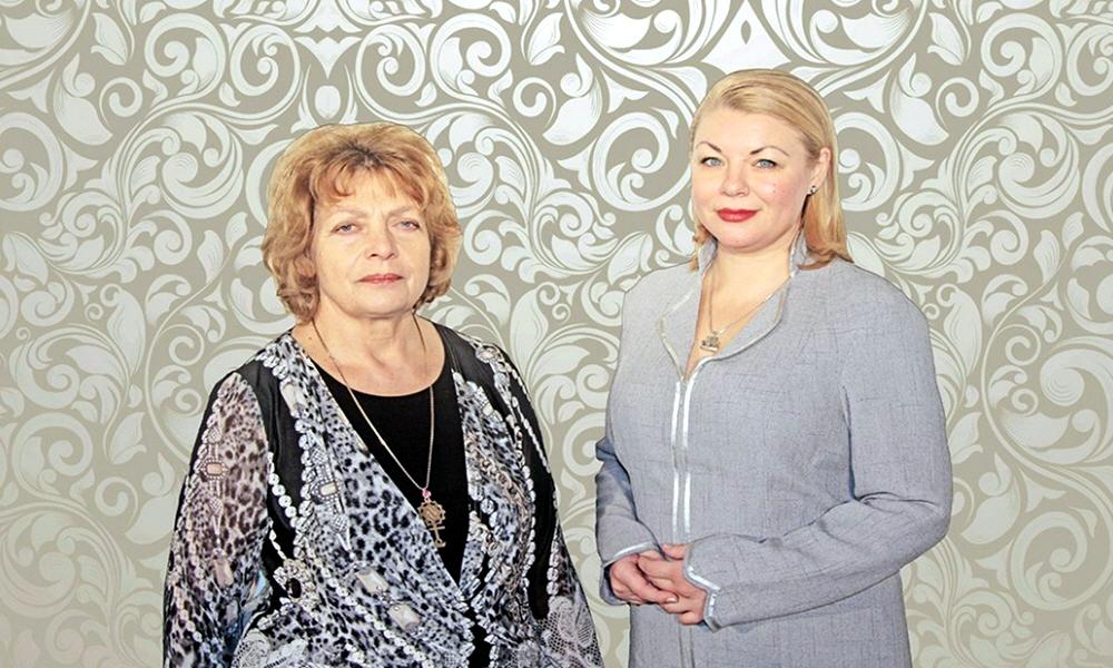 Ольга Торопова и Велеслава Захарова