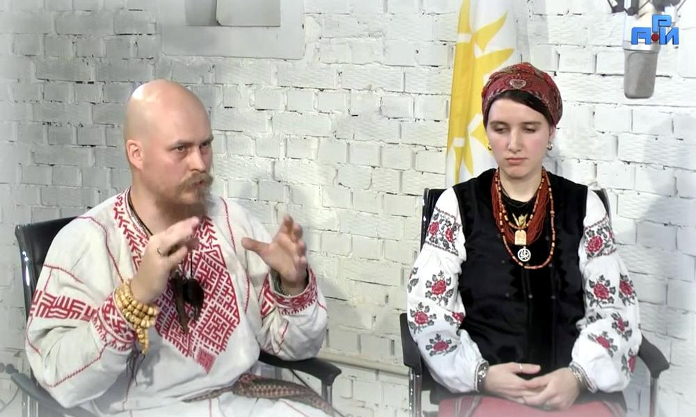 Велеслав Черкасов и Лада Черкасова Святочные вечера