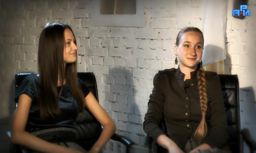 Татьяна Саенко и Ярослава Славеновна в программе Велеславы Захаровой