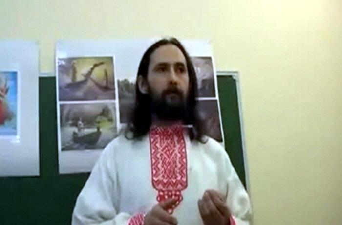 Евгений Стариков в Тюмени в мае 2010 года