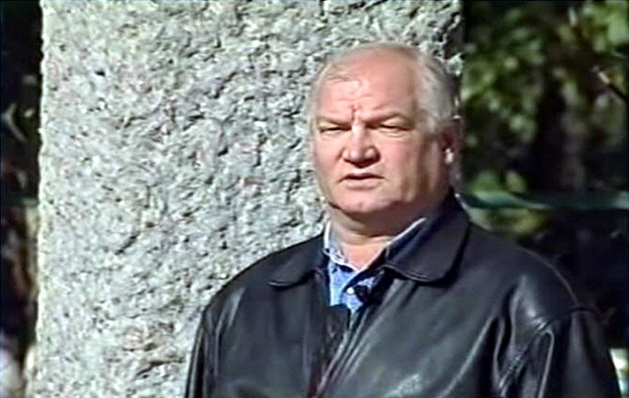 Виктор Степанов - народный артист СССР актёр ведущий фильма Время собирать камни