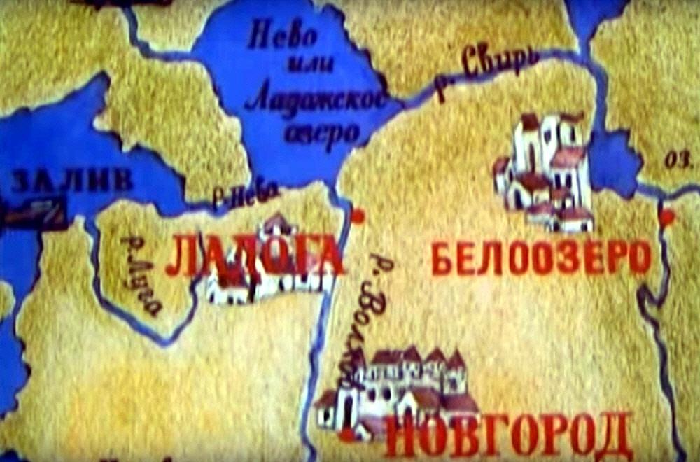 Документальный фильм Белозёрск Сквозь пелену тысячелетий