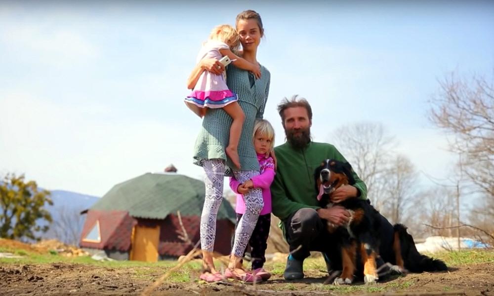 Жить на природе всей семьёй