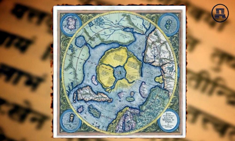 Прародина славян, которая находилась за полярным кругом на исчезнувшем материке