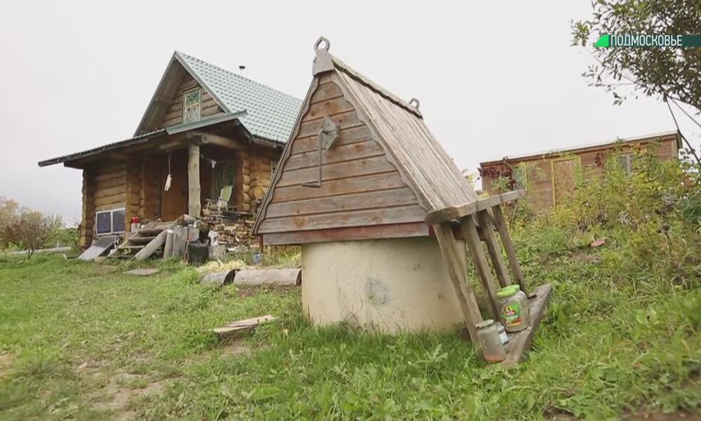 Колодец рядом с домом