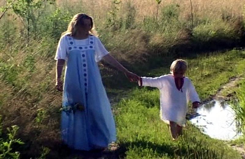 Славянские мама и её сынок