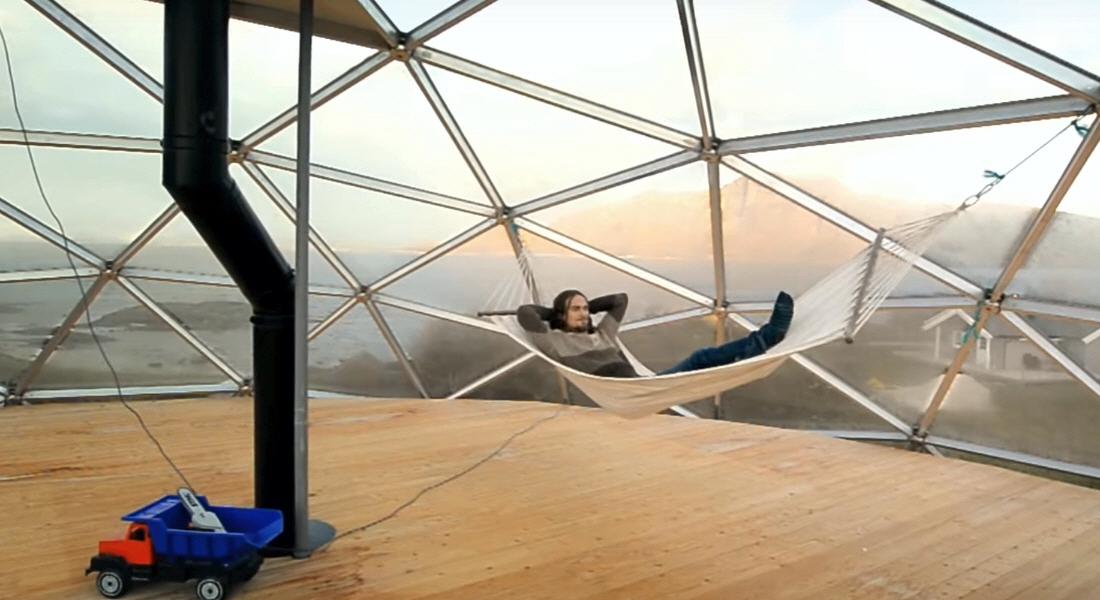 Счастливая жизнь в сферическом доме