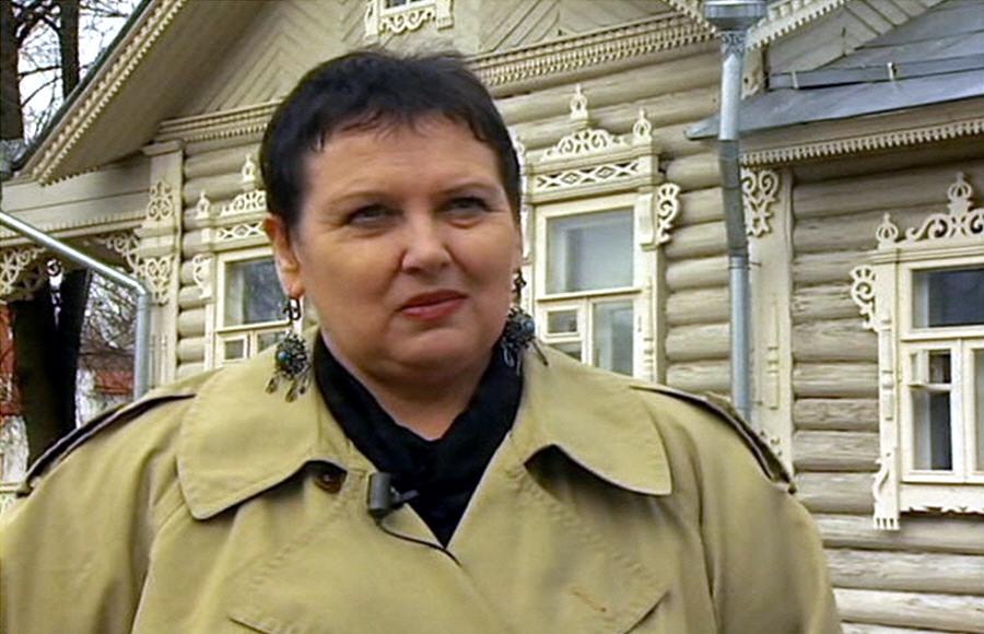 Светлана Жарникова - историк кандидат исторических наук