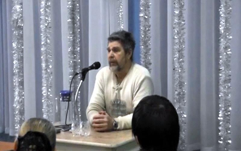 Встреча с Георгием Сидоровым в Новосибирске