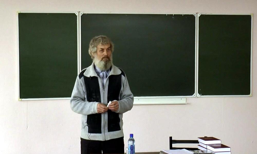 Геолог Александр Беспалов