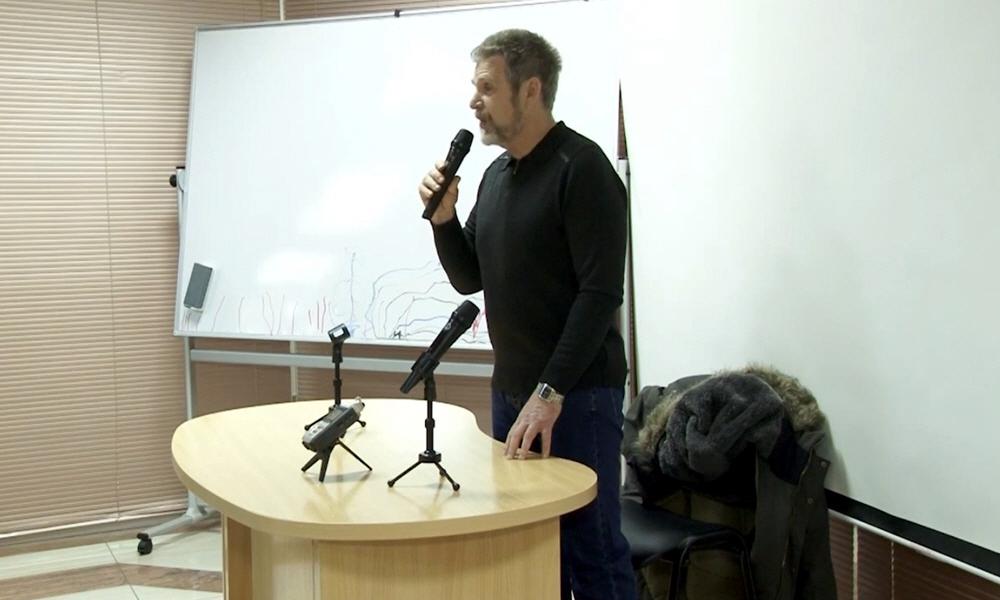 Георгий Сидоров в Краснодаре 18 января 2015 года