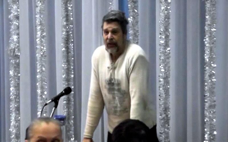 Георгий Сидоров в Новосибирске в январе 2012 года
