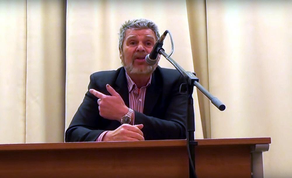 Георгий Сидоров в Новосибирске 17 января 2016 года