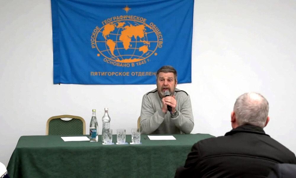 Георгий Сидоров в Пятигорске 20 января 2015 года