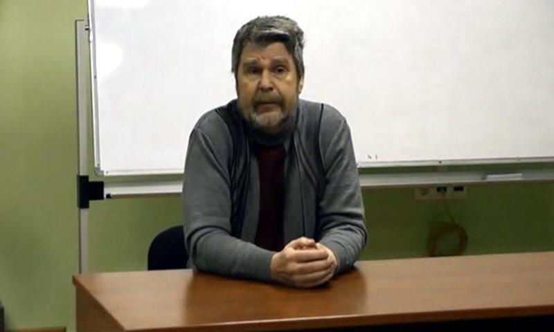 Георгий Сидоров в Томске 16 января 2012 года