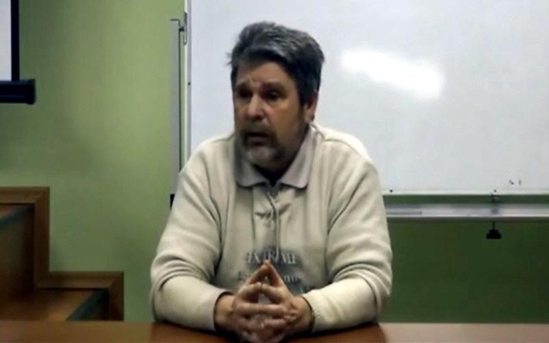 Георгий Сидоров в Томске 9 января 2012 года