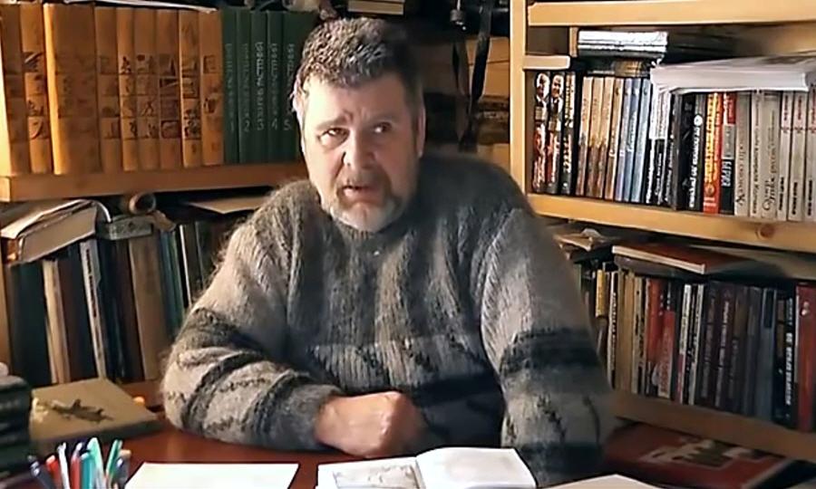 Лекция Георгия Сидорова в феврале 2012 года