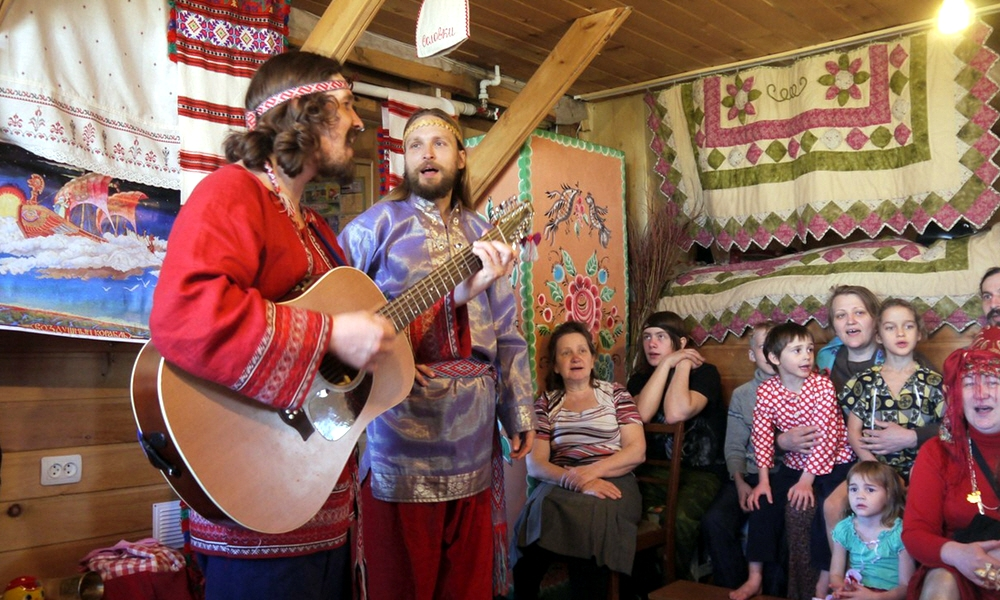 Георгий Левшунов в поселении Благодатное Новосибирской области 14-15 апреля 2015 года