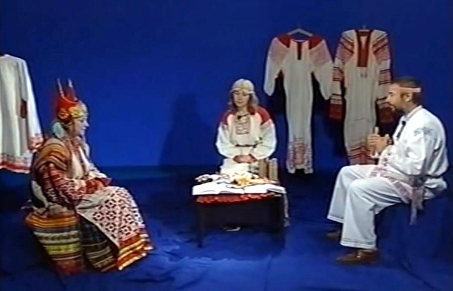 Передача Глобальный взгляд Невероятное в очевидном - Выпуск 12 Национальная славянская одежда